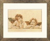 Lanarte Classic Collection - Two Raphael Characters, Angels - counted cross stitch kit