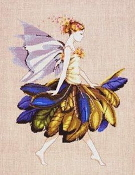 Mirabilia Designs The Petal Fairy MD-83 beaded counted cross stitch pattern