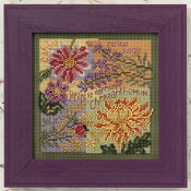 Mill Hill Autumn Series - Fall Blooms MH14-0203 beaded counted cross stitch kit