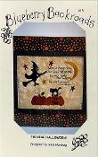 Blueberry Blackroads - Tis Near Halloween - embroidery, appique pattern