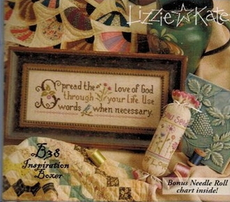 Lizzie Kate Boxer - Spread the Love counted cross stitch pattern kit