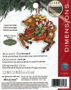 Dimensions Christmas Counted cross stitch kit - Reindeer Ornament, Susan Winget