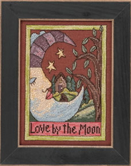 Mill Hill Sticks beaded counted cross stitch kit - Love by the Moon