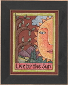 Mill Hill Sticks beaded counted cross stitch kit - Live by the Sun