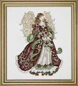 Design Works Crafts Angel of Joy counted cross stitch picture kit