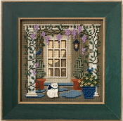 Mill Hill Spring Series - Wisteria Welcome Beaded counted cross stitch kit