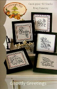 Crabapple Hill Studio Ghostly Greetings Hand Embroidery patterns