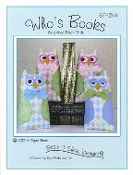 Susie C Shore Designs Who's Books weighted Owl book ends patterns