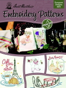 Aunt Martha's Embroidery patterns European Delights - iron on transfers