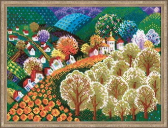Riolis - Valley of Fairytale counted cross stitch picture kit
