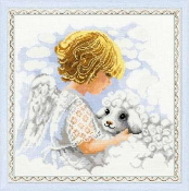 Riolis - Day of an Angel - counted cross stitch picture kit