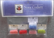 Mirabilia Designs Azalea NC197E Nora Corbett embellishment pack, Mill Hill Beads