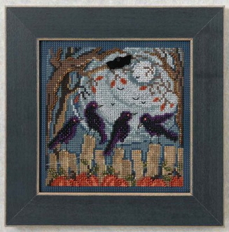 Mill Hill Autumn Series Ravens Witchery - Halloween beaded counted cross stitch kit