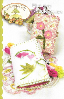 Crabapple Hill Studio Blushing Needle Keeps hand embroidery applique patterns