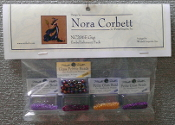 Mirabilia Designs Gigi NC206E Nora Corbett embellishment pack, Mill Hill Beads