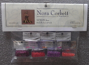 Mirabilia Designs Ana NC207E Nora Corbett embellishment pack, Mill Hill Beads treasures