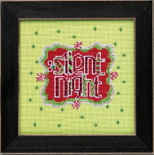 Mill Hill Amylee Weeks Christmas beaded counted cross stitch kit - Silent Night
