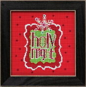 Mill Hill Amylee Weeks Christmas beaded counted cross stitch kit - Holy Night