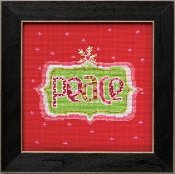 Mill Hill Amylee Weeks Christmas beaded counted cross stitch kit - Peace