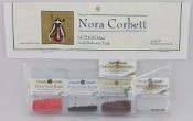 Mirabilia Designs Mari NC210E Nora Corbett embellishment pack, Mill Hill Beads