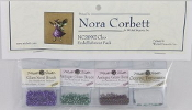 Mirabilia Designs Cleo NC209E Nora Corbett embellishment pack, Mill Hill Beads