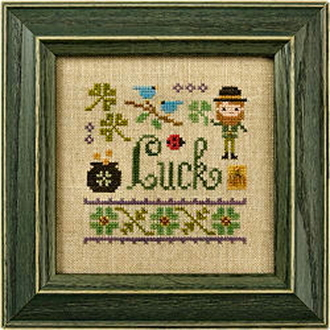 Lizzie Kate - A Little Luck counted cross stitch kit