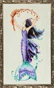 Mirabilia Designs Sea Flora NC194 design by Nora Corbett counted cross stitch pattern