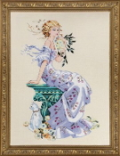 Mirabilia Designs Nora Corbett Florentina counted cross stitch chart pattern