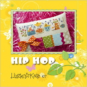 Lizzie Kate - Hip Hop Easter counted cross stitch kit