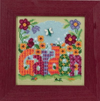 Mill Hill Spring Series Garden beaded counted cross stitch kit
