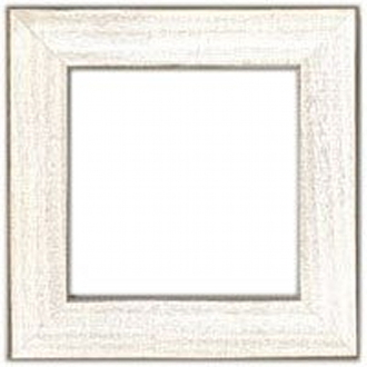 Mill Hill Frame GBFRM10 Antique White - wooden, hand painted