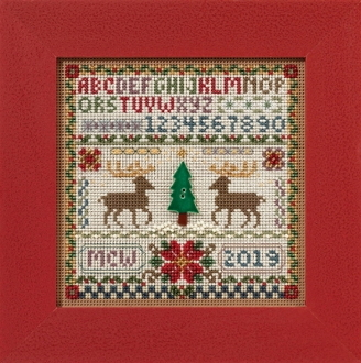 Mill Hill Christmas Counted cross stitch kit - Holiday Sampler