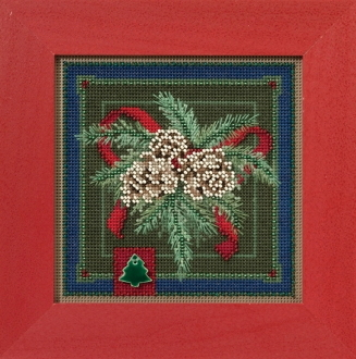 Mill Hill Christmas Counted cross stitch kit - Festive Pine