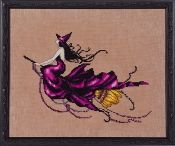 Mirabilia Designs Eva NC224 design by Nora Corbett counted cross stitch pattern