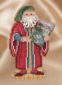 Mill Hill Renaissance Florence Santa MH20-1632 Christmas Ornament beaded counted cross stitch kit