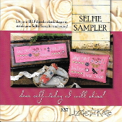 Lizzie Kate - Selfie Sampler K87 counted cross stitch kit
