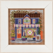 Mill Hill Spring Series Fabric Shoppe beaded counted cross stitch kit