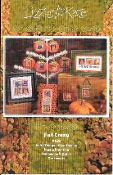 Lizzie Kate Fall Crazy counted cross stitch patterns