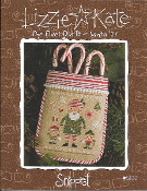 Lizzie Kate Snippet The Elves Did It Santa 2017 Christmas Counted cross stitch pattern, chart with buttons, Charm