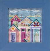 Mill Hill Spring Series Cabana Beach beaded counted cross stitch kit