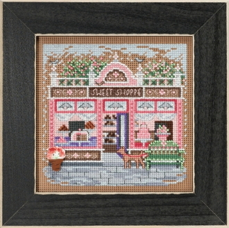 Mill Hill Spring Series Sweet Shoppe beaded counted cross stitch kit