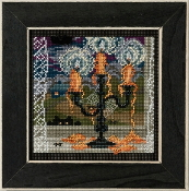 Mill Hill Autumn Series Midnight Glow Halloween beaded counted cross stitch kit