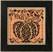 Mill Hill Autumn Series Enchanted Pumpkin beaded counted cross stitch kit