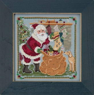 Mill Hill - A Jolly Old Elf MH17-1833 Christmas beaded counted cross stitch kit