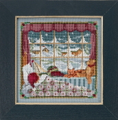 Mill Hill - The Children Were Nestled MH17-1832 Christmas beaded counted cross stitch kit