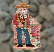 Mill Hill Grand Canyon Santa MH20-1832 Christmas Ornament beaded counted cross stitch kit