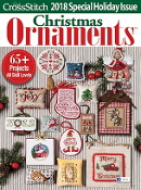 Just Cross Stitch 2018 Special Christmas Issue Ornaments magazine
