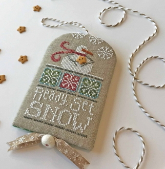 Hands On Design Ready Set Snow Counted cross stitch pattern chart