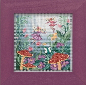 Mill Hill Autumn Series Fairy Garden beaded counted cross stitch kit