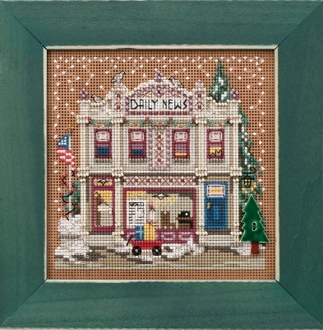 Mill Hill Daily News Counted cross stitch kit